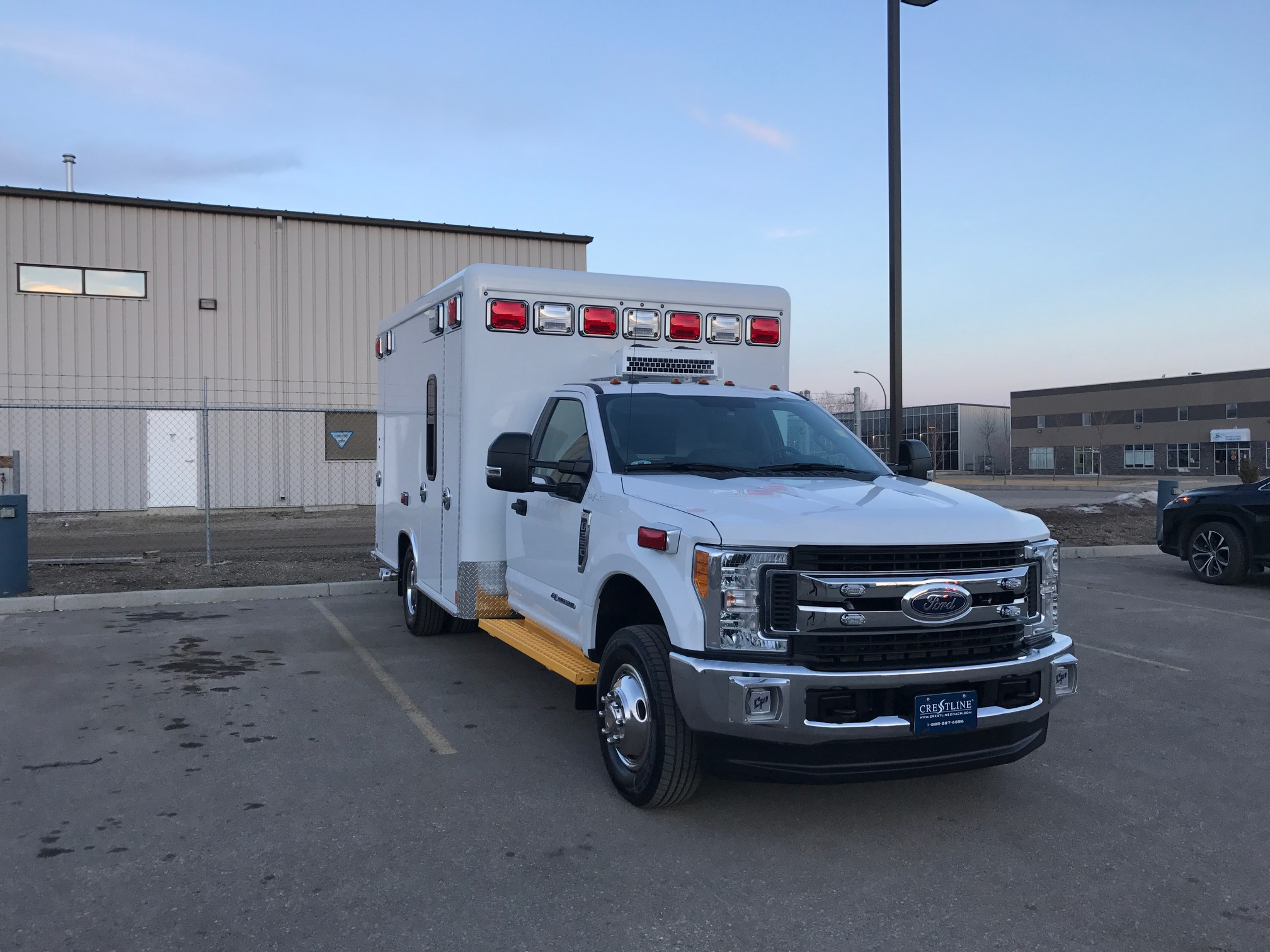 Ambulance may not be exactly as shown.