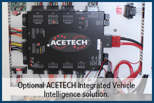 Optional ACETECH Integrated Vehicle Intelligence solution.
