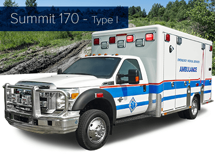 Summit 170 - Type I Ambulance