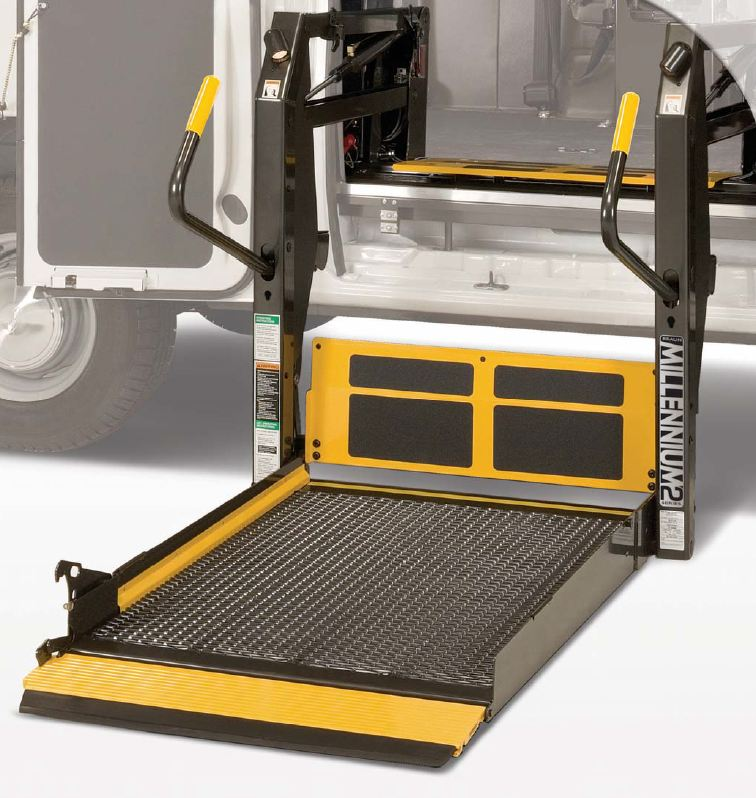 lift perfect for the independent driver the millennium wheelchair lift