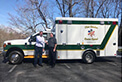 A big congratulations and thank you to New Garden Rescue Squad (Hoanker, Virginia, USA) who received their brand new Crestline Summit 150 - Type I.