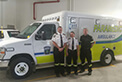 Cheers to Muskoka EMS on the delivery of their new FleetMax Ambulance.