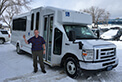 Congratulations to the City of Prince Albert on the delivery of your new Goshen Impulse bus.