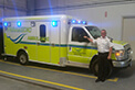 Congratulations to Northumberland on the recent delivery of their two new Crestline Commander ambulances, featuring blue lights!