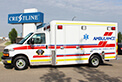 Matt is on his was to Caroline, AB to deliver this great looking Crestline Commander ambulance.