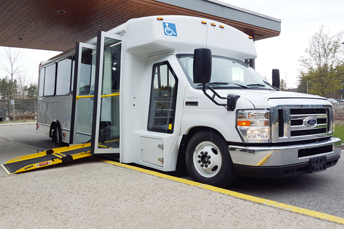 Champion Low Floor Transport Bus for Norfolk County, ON.