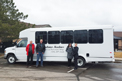 ElDorado Advantage Bus for Parkview Meadows Christian Retirement Village in Townsend, ON. Seen in photo (left to right): Jerry, Eric, Rebecca, Carlene of Parkview Meadows Christian Retirement Village.