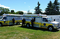 FleetMax Ambulances for Lanark County Ambulance Service in ON.