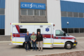 Summit Ambulances for Red Deer Emergency Services in AB.