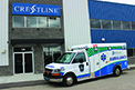 "Crestline's Fleetmax Hybrid ambulance for Oxford County, ON, is the 1st hybrid ambulance in Canada. It incorporates several ""green"" technologies, including the XL3 Hybrid System and ACETECH's ECO-Run module. The XL3 Hybrid System seamlessly installs onto original equipment manufacturer powertrains, using regenerative braking to help fleets increase fuel economy by 25%, lowering CO2 emissions by 20% while reducing its carbon footprint on the environment."