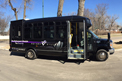 Aerotech bus for Rotary Villas at Crocus Gardens in Brandon, MB.