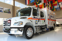 Exterior photo of state-of-the-art pediatric ambulance for the province of Saskatchewan.