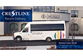 Recent Delivery of Crestline's first Berkshire Coach Ultra24 bus to the residents at Littledale.  Congratulations!