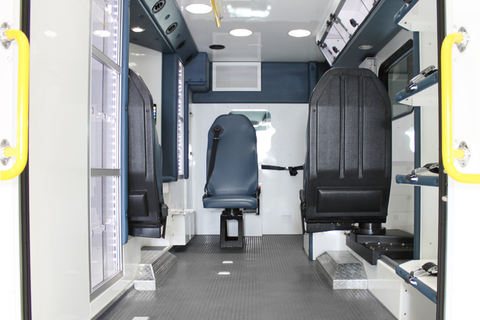 Sprinter Icon Ambulance Interior